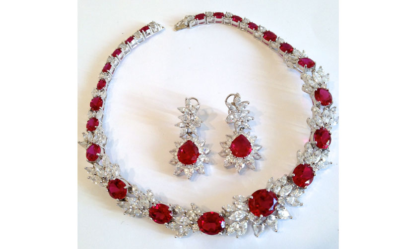 Ruby jewellery in India
