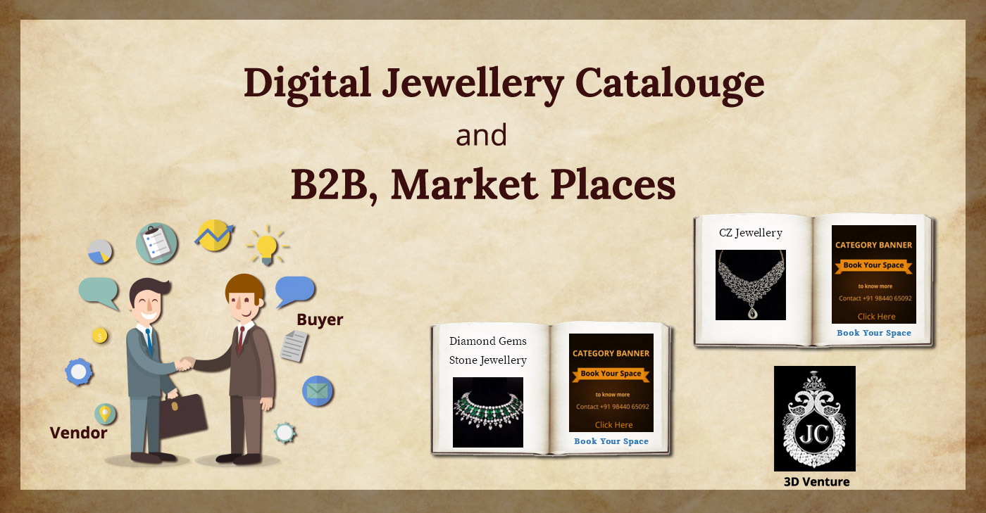 jewellery cluster Catalouge & B2B, Market Places
